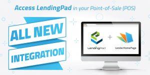 lenderhomepage integrates with lendingpad