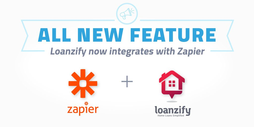 LenderHomePage announces Loanzify and Zapier Integration