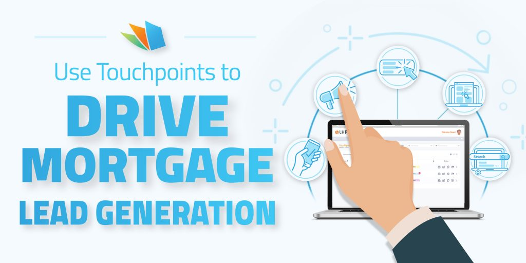 how to use touchpoints to drive mortgage lead generation lenderhomepage