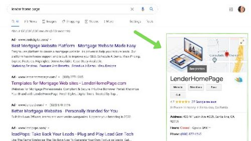 how mortgage business can improve ranking with google my business