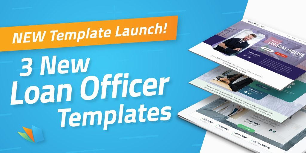 all new loan officer websites lenderhomepage