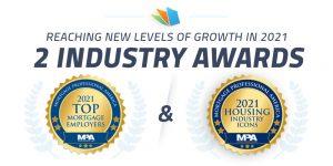 lenderhomepage wins 2 awards MPA 2021